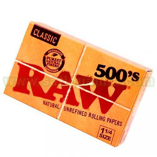 PAPEL RAW 500 1/4