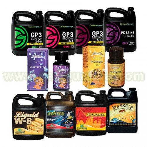 OFERTA PACK FERTILIZANTES GREEN PLANET