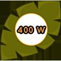 400 W