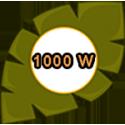 1000 W