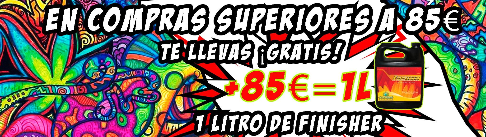 Oferta en compras superiores a 85€