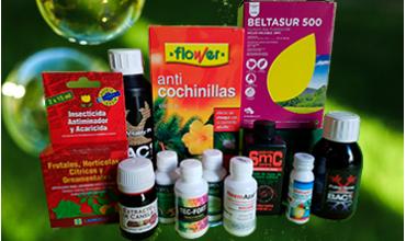 Insecticidas - Fungicidas